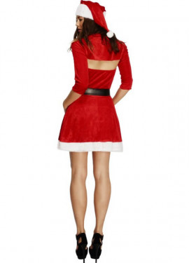 Déguisement de Mère Noël veste boléro courte pour femme