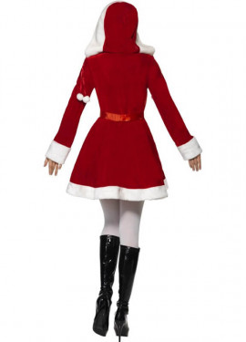 Disfraz de Mamá Noel con Acebo para mujer