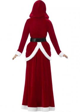 Disfraz de Mamá Noel con Chaqueta Larga para mujer