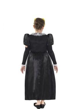 Disfraz de María Estuardo de Historias Horribles para niña