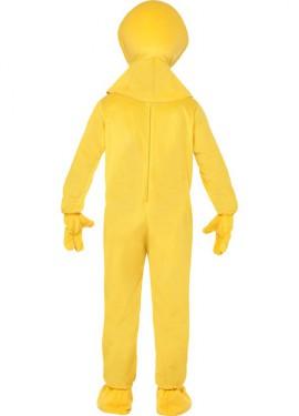 Disfraz de Marioneta Zippy Amarillo de Rainbow para hombre