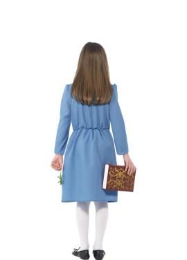 Disfraz de Matilda de Roald Dahl Azul para niña