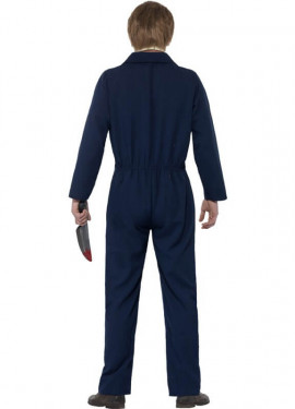 Disfraz de Michael Myers de Halloween Azul para hombre