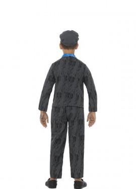 Disfraz de Minero de Historias Horribles para niño