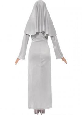 Disfraz de Monja Fantasma para mujer
