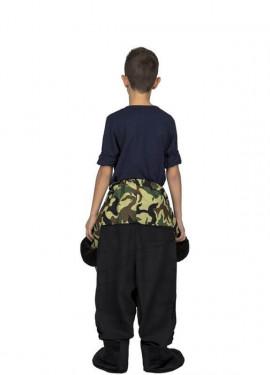Disfraz de Mono a hombros para niños