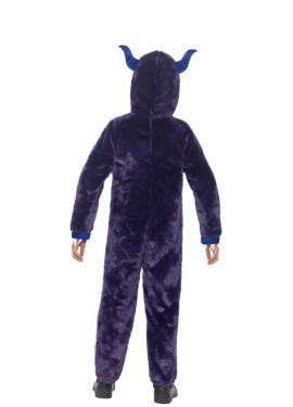 Disfraz de Monstruo Morado para niños