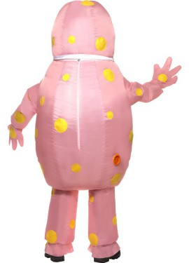 Disfraz de Mr. Blobby Hinchable de Noel House Party para adultos
