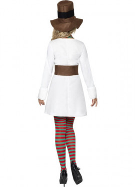 Disfraz de Mrs. Muñeca de Nieve para mujer