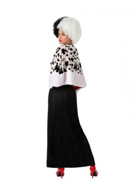 Disfraz de Mujer Cruella para mujeres