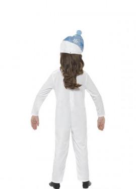 Disfraz de Muñeco de Nieve para niños