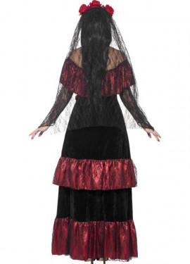 Disfraz de Novia del Día de Muertos para mujer