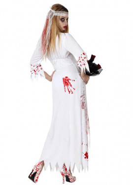 Disfraz de Novia Muerta para mujer