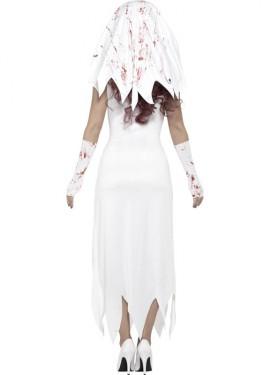 Disfraz de Novia Zombie para mujer