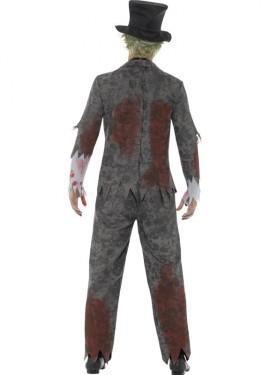Disfraz de Novio Zombie para hombre
