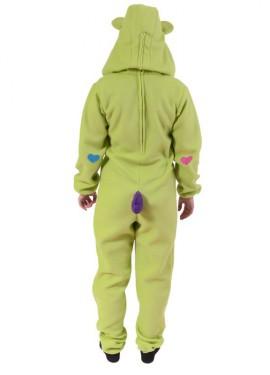 Disfraz de Oso Cariñoso Verde Pistacho para adultos