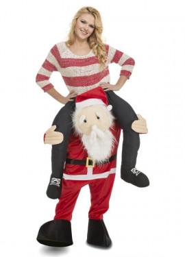 Disfraz de Papá Noel a hombros para adultos