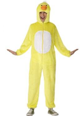 Disfraz de Pato Amarillo para adulto