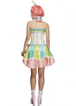 Disfraz de Payasa Vintage para mujer