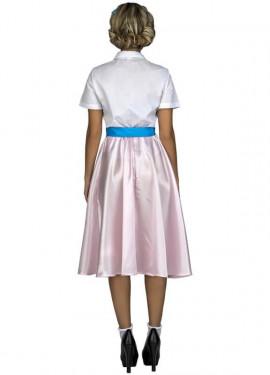 Disfraz de Pink Lady Rosa para mujer