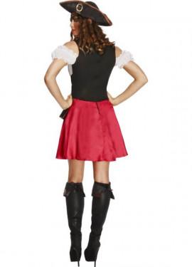 Disfraz de Pirata Corsé para mujer