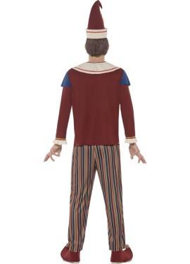 Disfraz de Polichinela Poseído para hombre