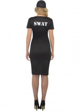 Disfraz de Policía de Élite SWAT para Mujer
