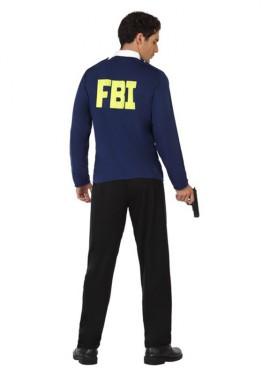 Disfraz de Policía del F.B.I. para hombre
