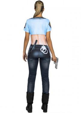 Déguisement ou T-Shirt de Police Sexy pour femme
