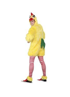 Disfraz de Pollo para hombre talla M-L