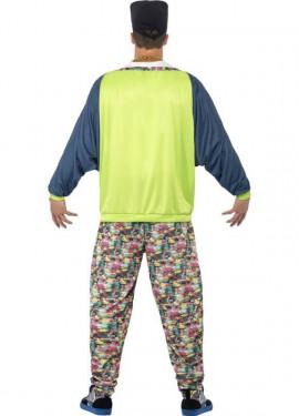 Disfraz de Rapero años 80 para hombre