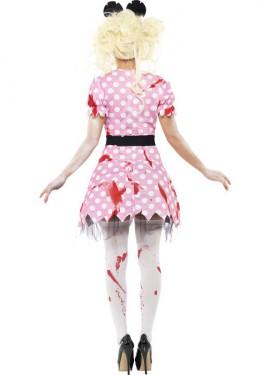 Disfraz de Ratita Zombie para Mujer
