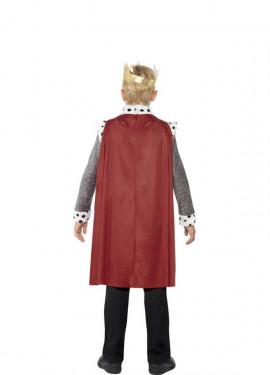 Disfraz de Rey Medieval para niño