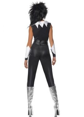 Disfraz de Rockera de los Años 70 para Mujer