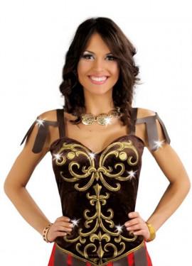 Disfraz de Romana Tiberia para mujer