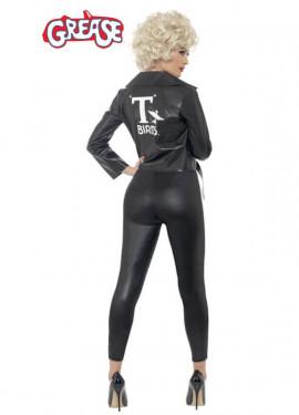 Disfraz de Sandy de Grease Negro para mujer