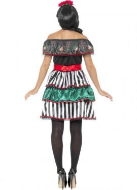 Disfraz de Señorita del Día de Muertos para mujer