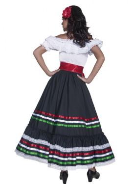 Disfraz de Señorita Mexicana del Oeste para mujer