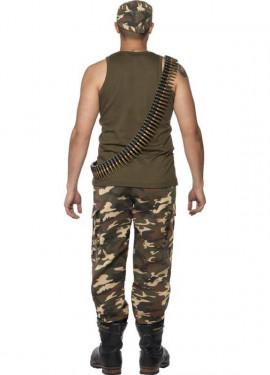 Déguisement Soldat Militaire Camouflage pour homme plusieurs tailles