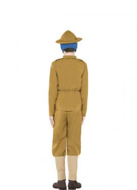 Disfraz de Soldado de la 1ª Guerra Mundial de Historias Horribles para niño