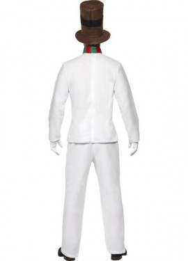 Disfraz de Sr. Muñeco de Nieve para hombres
