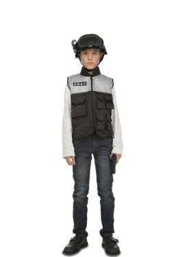 Disfraz de SWAT con accesorios para niños