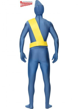 Disfraz de Thunderbirds segunda piel para hombre