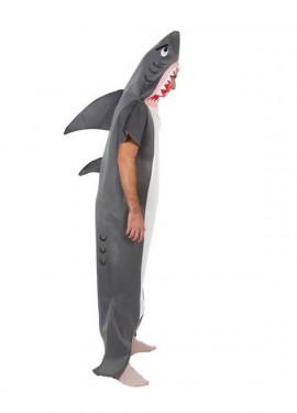 Disfraz de Tiburón para hombre talla M-L