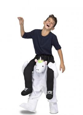 Disfraz de Unicornio a hombros para niños