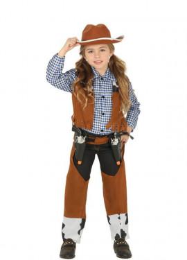 Disfraz de Vaquero con Chaleco para niños