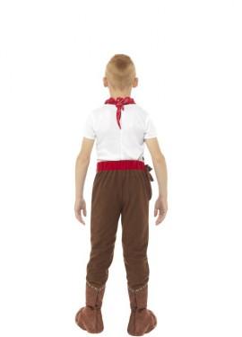 Disfraz de Vaquero Marrón para niño