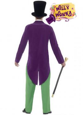 Disfraz de Willy Wonka de Roald Dahl para hombre