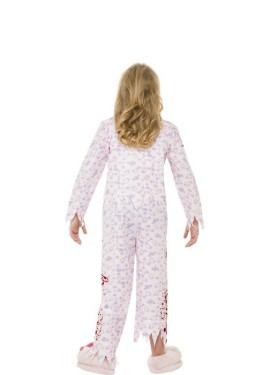 Déguisement de Zombie en Pyjama pour fille