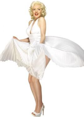 Déguisement Deluxe Marilyn Monroe pour Femme